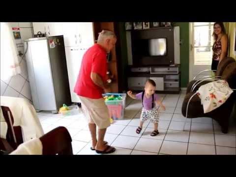 Momentos com o vovô