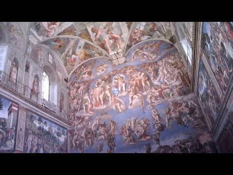 THE SISTINE CHAPEL-(With Surprising Facts About Michelangelo!)