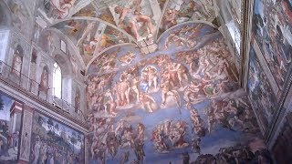 THE SISTINE CHAPEL-(With Surprising Michelangelo Facts!)