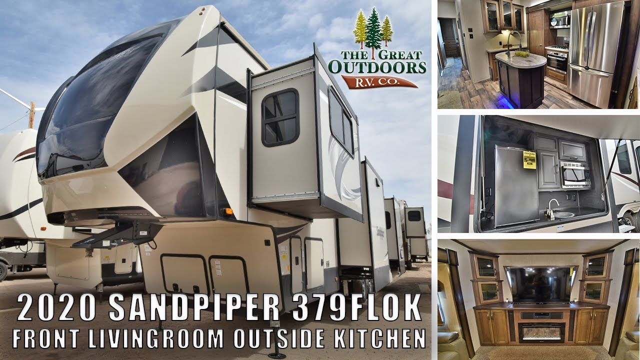 New Flok Font Living Room Outside Kitchen Extended Stay Fifth Wheel Colorado