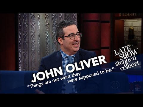 John Oliver Doesn't Think He'll Get Deported, But He's Being