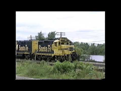ATSF Transcon in Illinois (1995)