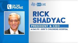 ALSAC President & CEO Richard Shadyac Talks St. Jude & More w/ Rich Eisen | Full Interview | 1/22/20