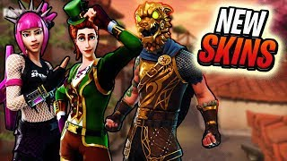 Fortnite - NEW OUTFITS & PICKAXES!! - New Emotes, Battle Hound, Pot o' Gold Pickaxe & More (LEAKED)