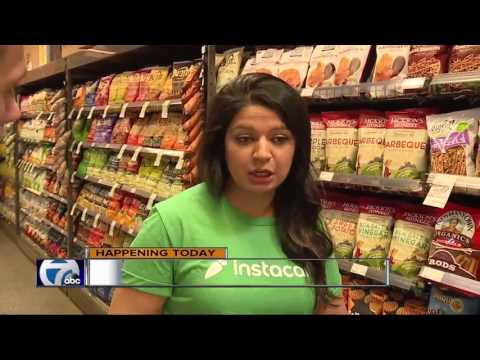 Instacart grocery delivery service launches in metro Detroit