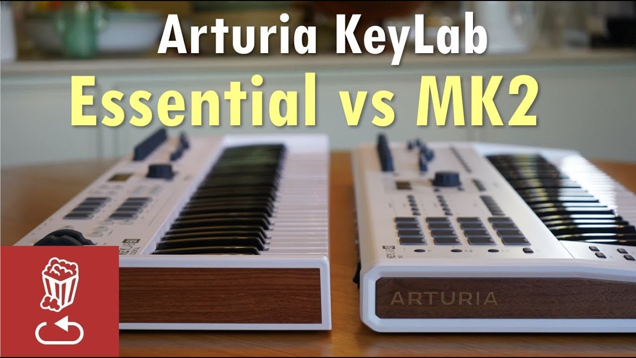 Download Arturia KeyLab MK2 vs Essential: Is it worth the price difference?