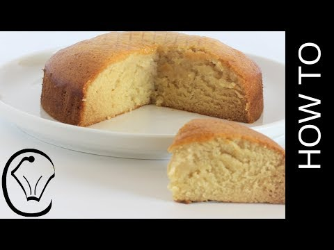 Eggless Dairy Free Vanilla Cake Moist And Dense