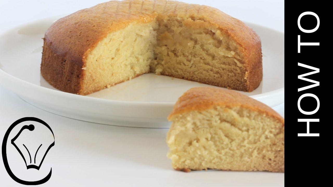 Eggless Dairy Free Vanilla Cake Moist And Dense Youtube