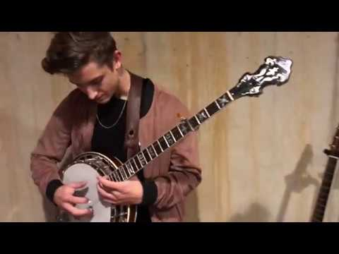 Jonny Shreds Banjo Over Hip-Hop Beat pt 2