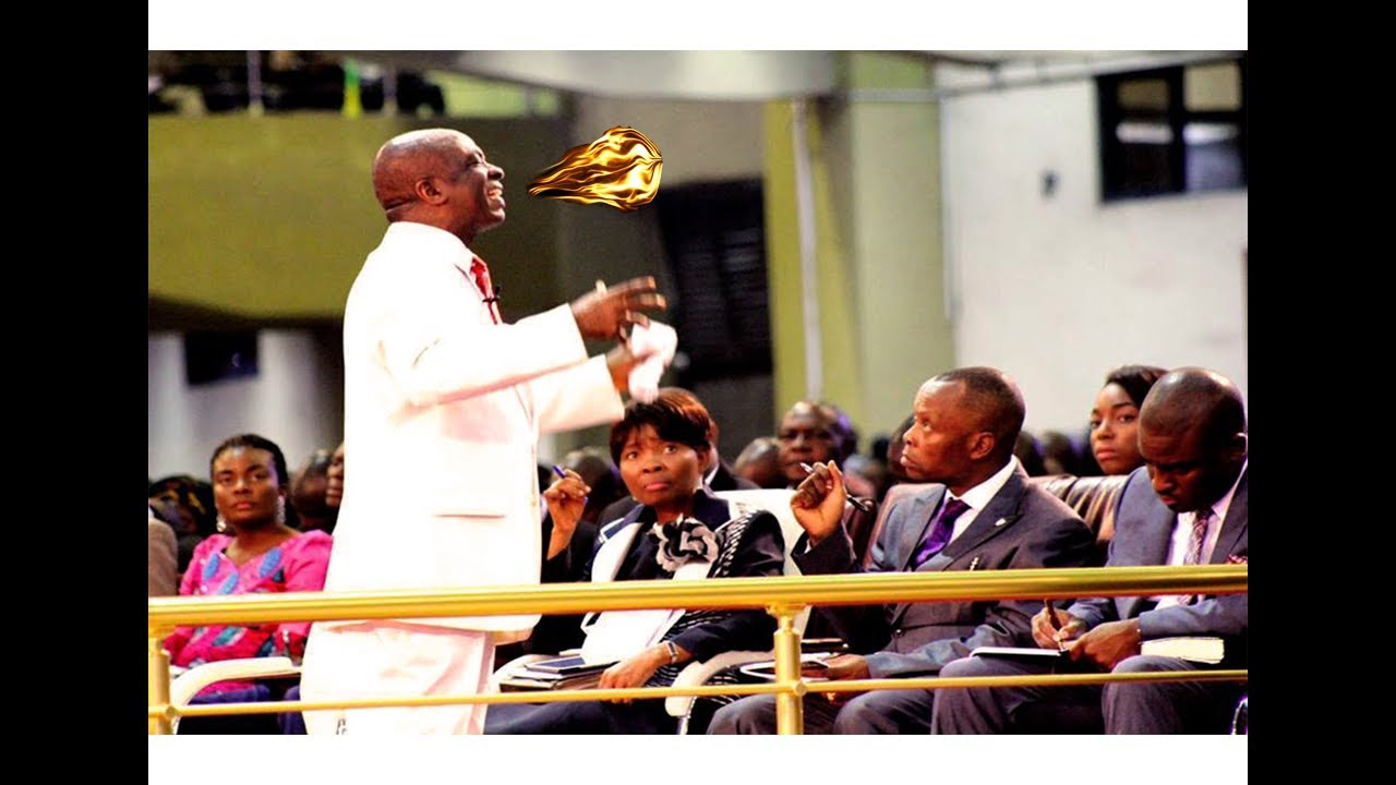 Download Bishop David Oyedepo - 50 mins Tongues* Of* Fire*