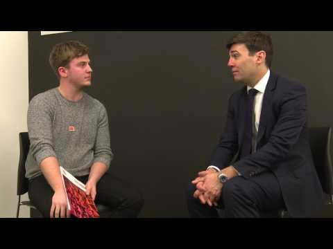 In Conversation with Andy Burnham