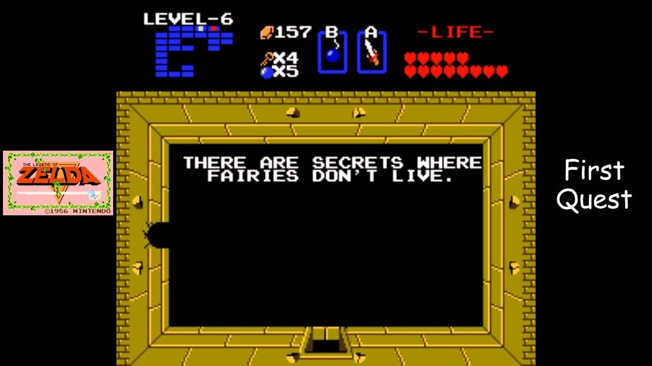 Legend of Zelda [NES] Playthrough #08, Quest 1, Level 6: The Dragon