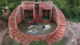 Build The Most Beautiful Swimming Pool For Summer Full Video