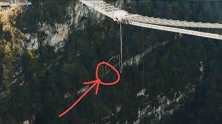 Неудачный Bungy Jump 207 метров. Спуск по закрытым трассам Роза Хутор. New Star Camp #3