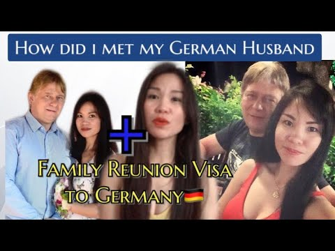 HOW DID WE MET? || PLUS FAMILY REUNION VISA TO GERMANY🇩🇪