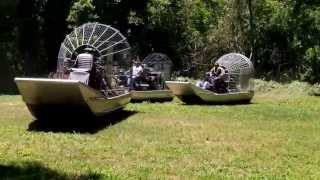 Airboat Parking Lot