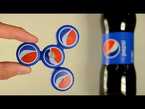 How to Make a Pepsi Fidget Spinner - Easy DIY