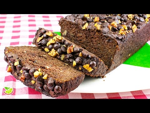 🍫🥑  Chocolate Bread | Sugar Free | Flourless | Gluten Free | Yo +Green
