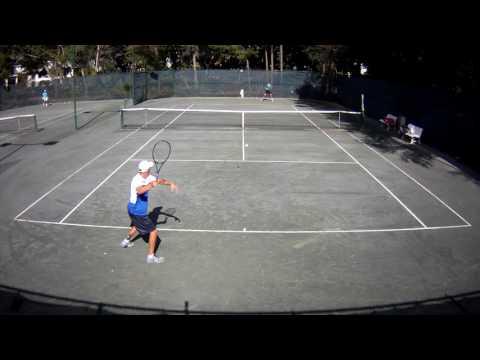 Isaiah Strode VS. Constantin Schmitz (Set 1)