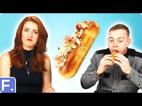 Irish People Taste Test American Seafood