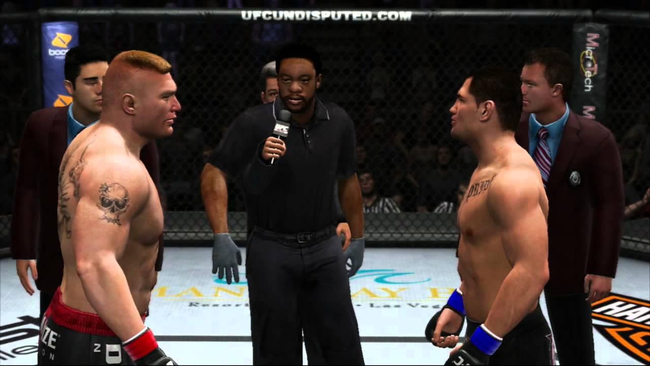 Download UFC 3 Undisputed Brock Lesner VS Cain Velasquez