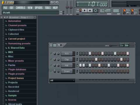 FL Studio Tutorial Series: Lesson 2 - Making a Simple Beat or Pattern