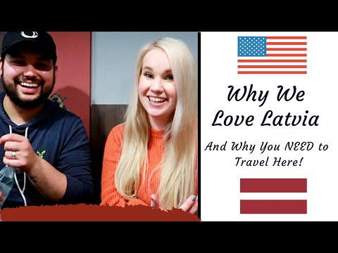 Why We Love Latvia! | Americans In Riga, Latvia - Ft. Brian Velez