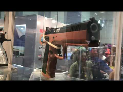 TACS EXPO 2018:  Survival Weps, Imported Guns by Tanfoglio, KelTec, Etc