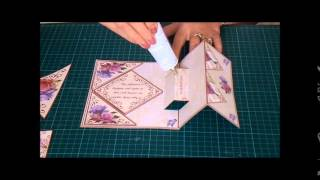 CUP TV Episode 183 - Carol Dunne makes a Fold Back Pop up Card