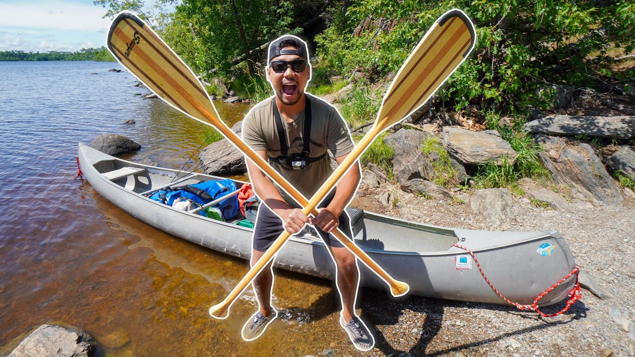 Remote Wilderness Backcountry Canoe Camping! (CATCH CLEAN COOK)