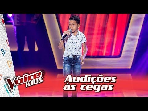 Matheus Tavares canta 'Ainda Ontem Chorei de Saudade' – 'The Voice Kids Brasil' | 3ª Temporada