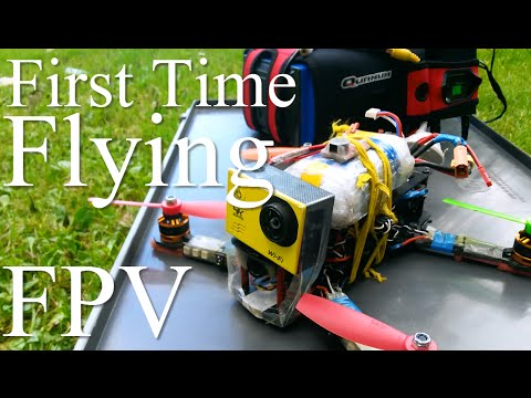Happy Flyer First Time Flying FPV with a Race Drone