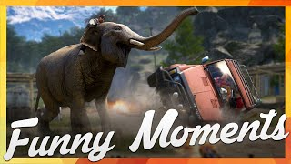 Far Cry 4: Funny Moments - Wrecking Ball, Move Bitch & Goat Stealing!