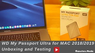WD My Passport Ultra for MAC Review- 2019