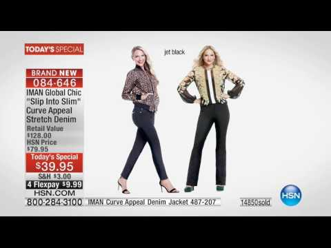 HSN | IMAN Global Chic Fashions 08.27.2016 - 01 AM