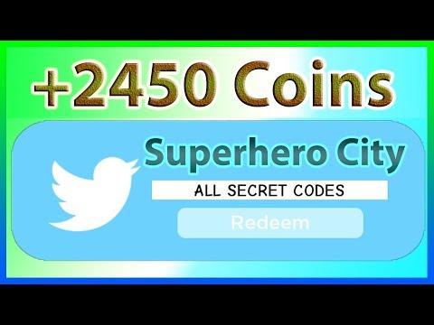 All Codes For Superhero Simulator Superhero City 11 Codes