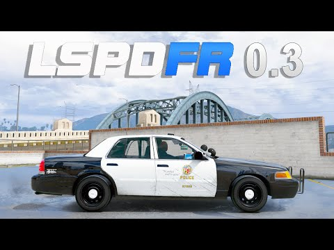 GTA 5 LSPDFR 0.3 Mod - Doctor GTA Patrol Day 1