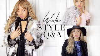 STYLE Q&A | The Winter Edition