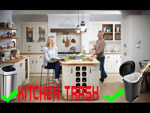 Best Kitchen Trash 2017 | TOP 5 Best Kitchen Trash Can For Your Kitchen