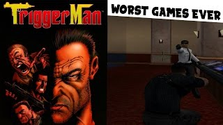 Trigger Man - Worst Game Ever Made - Gameplay Gamecube HD