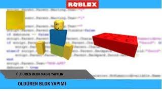 Roblox studio lessons #2 Killing Block