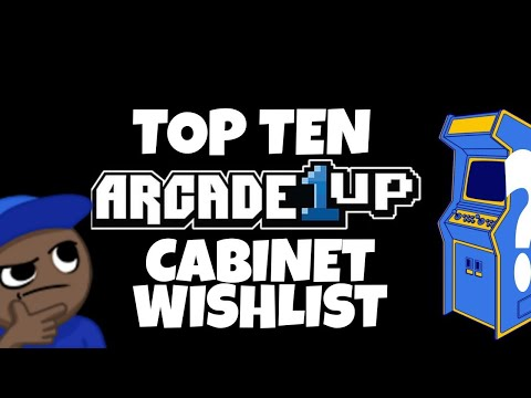 Top Ten Cabinets That Arcade1up Should Make... {MOAT's Wishlist 2021} from MikeOfAllTrades
