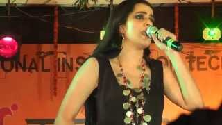 Aaja Ve , Rupaiya , Jiya Lage Na and Ambarsariya | Sona Mohapatra live performance at NIT Agartala