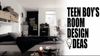 Teen Boy's Room Design Ideas