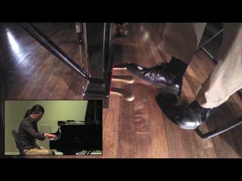 "Frederic Chiu Demonstrates ""Focus Group"" Pedal Technique with Debussy's Clair de Lune"