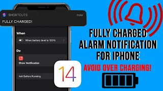 Fully Charged Alarm Notification For iPhone   ios 14 screenshot 5