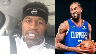 Stephen Jackson rips all the analysts that predicted where Kawhi was going