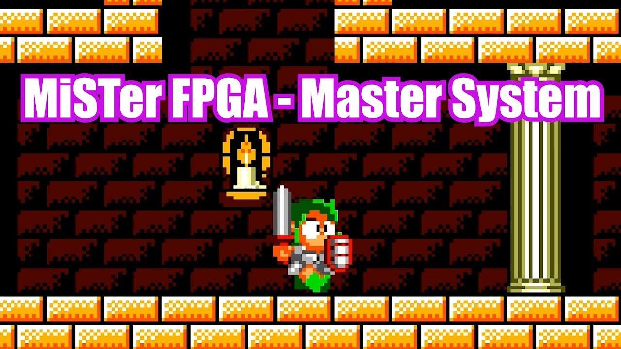 MiSTer FPGA - Sega Master System Gameplay