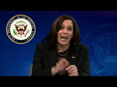 Kamala Harris Virtually Participates in the House Democratic Caucus Issues Conference, 03/02/2021