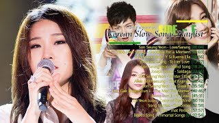Korean Slow Songs Playlist with Lyrics - Side E : Special Appearances